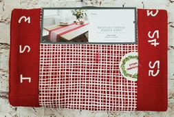25 Days of Christmas Advent Calendar Table Runner Date Marke