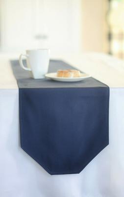 """29"""" x 11"""" solid navy blue table runner"""