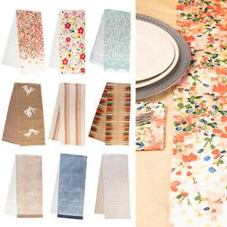 "Tag 72"" Dining Table Runner Spring Pattern Fabric Kitchen Li"