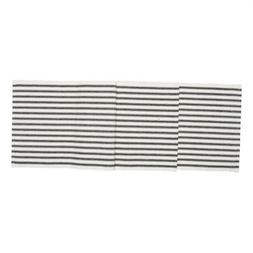 C&F Home Ticking Stripe Black Table Runner 13 x 72 Inches 10