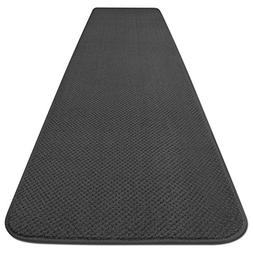 Skid-resistant Carpet Runner - Gray - 8 Ft. X 27 In. - Many