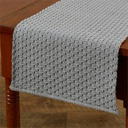 "Table Runner 36"" L - Chadwick Mist by Park Designs - Kitchen"