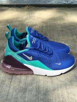 Nike Air Max 270 Women's Size 7 Blue/Tirquoise Runners