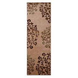 Superior Amber Collection Camel Brown Digitally Printed 2.6'