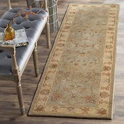 Safavieh Antiquity Collection AT63A Beige and Multi Runner,