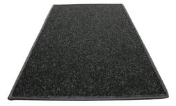 Black - Heavy Choice Indoor/Outdoor Carpet Area Rugs, Runner