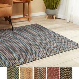 Braided Indoor/Outdoor Rectangle / Square Rug | Made in the