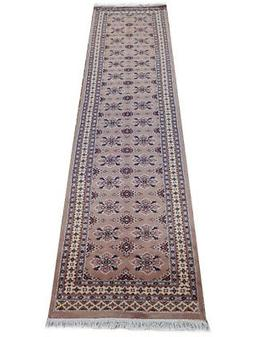 Brown 2 ft 6 in x 10 ft carpet runners for sale Bokhara 2' 7