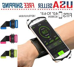 Cell Phone Sports WristBand Running Jogging Bag Cover 180°