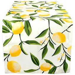DII Cotton Table Runner for Dinner Parties, Summer BBQ & Out