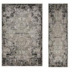 Country Style Carpet Carved Geometric Rug Floor Rugs Style A