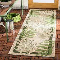 Safavieh Courtyard Rhonda Botanical Indoor/ Outdoor Rug