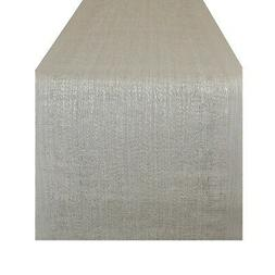 DII Space Dyed Table Runner Silver