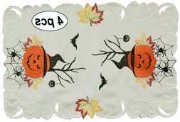 Creative Linens Fall Halloween Placemats Table Cloth Runner
