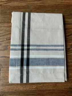 DII French Stripe Tabletop Collection Table Runner Machine W