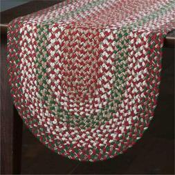 Park Designs Holly Berry Braided Christmas Red Green Table R