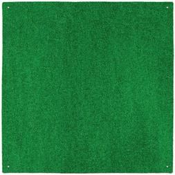 House, Home and More Outdoor Turf Rug - Green - 12 Feet X 20