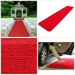 House, Home and More Red Carpet Aisle Runner - 3' x 10' - Ma