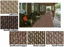 Indoor - Outdoor Area Rugs & Runners. Great for Porches, Pat