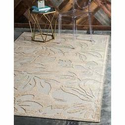 Unique Loom Jacksonville Indoor/Outdoor Area Rug Beige 9' x