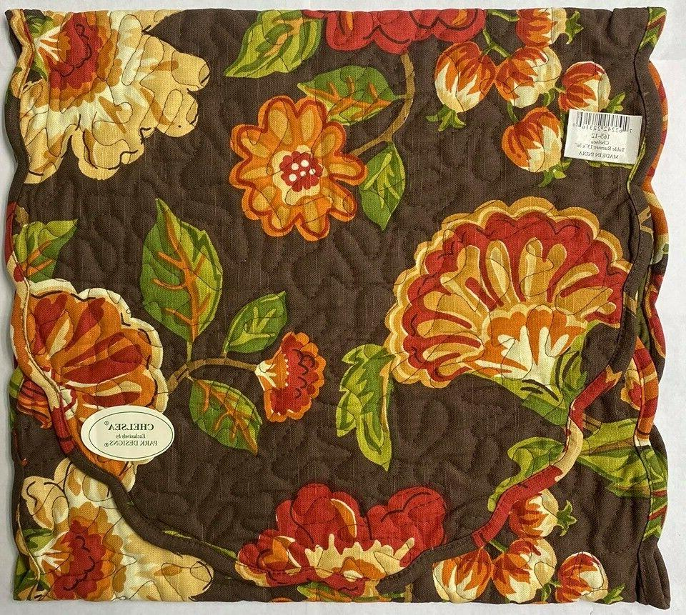 165 12 chelsea table runner 36 inches