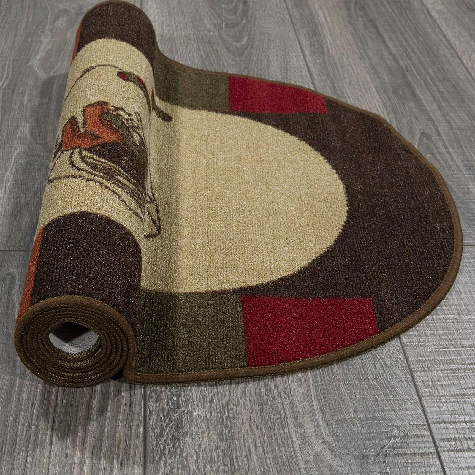 """20"""" Room Rug Non Oval Resistant Wash"""