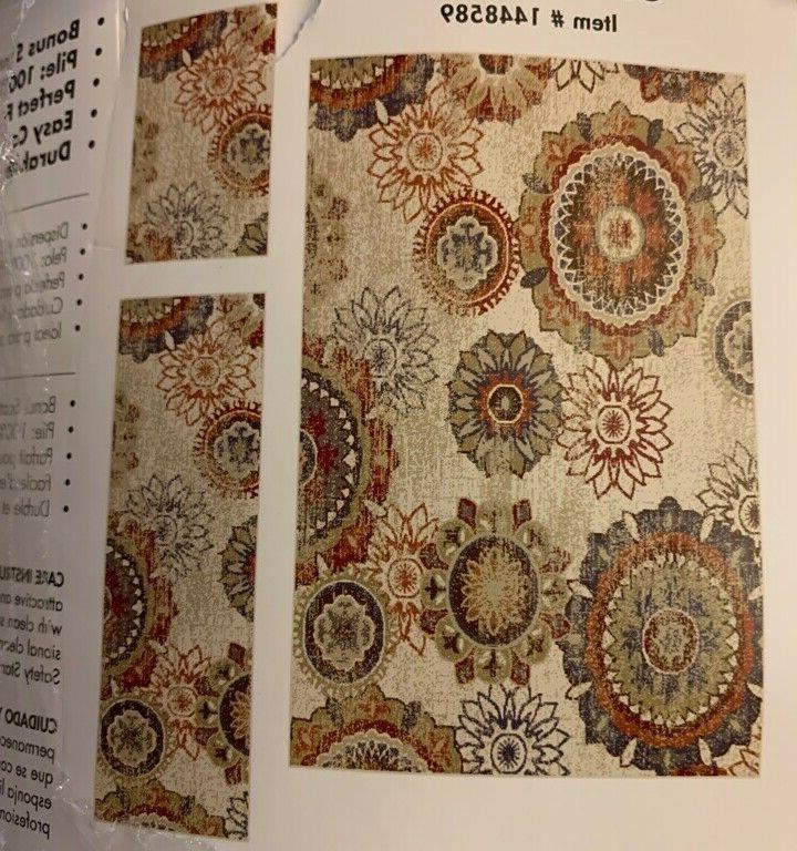 Oriental 5 x 7 Bohemian/Eclectic Rug,accent,runner 3 PIC
