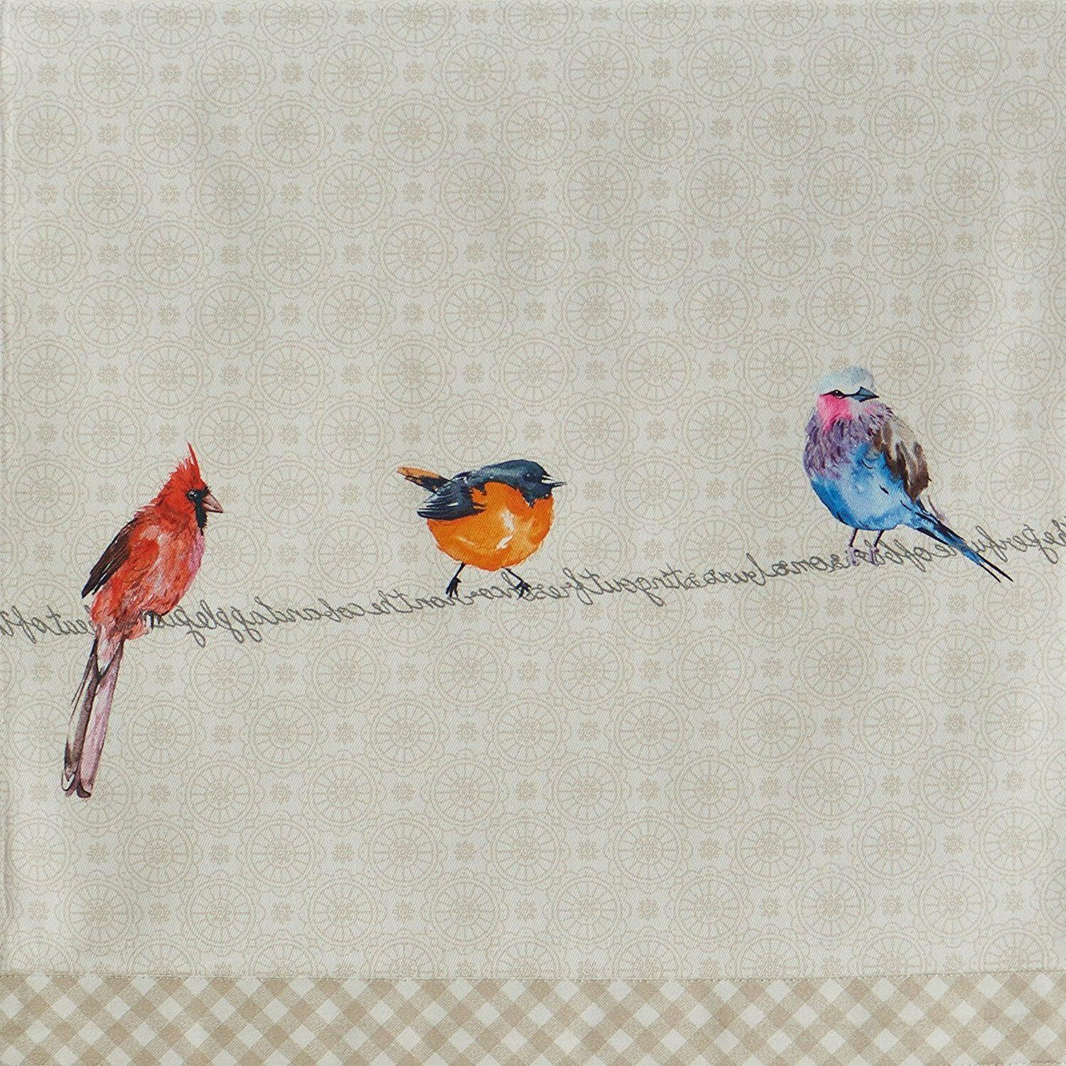 Maison d' Birdies on Wire Table 14.5 inch by 108-inch