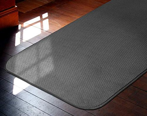 Skid-resistant Carpet Runner Gray X 27 In. - Many Sizes Choose From