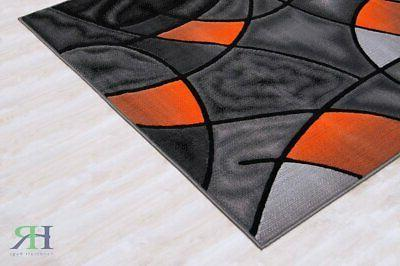 Abstract Area Rug Modern Contemporary Flooring Carpet For Dining