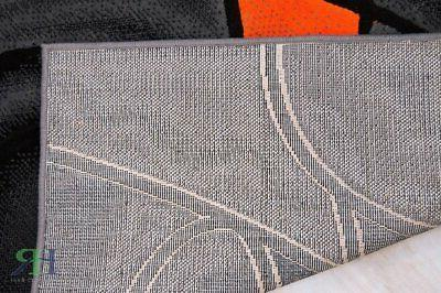 Abstract Rug Modern Contemporary For Dining