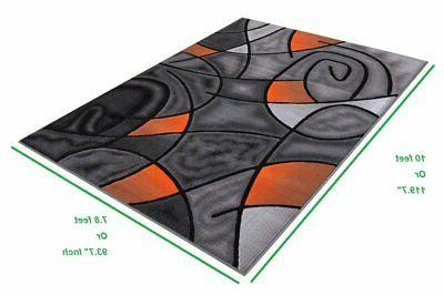 Abstract Contemporary Flooring Rugs For Room