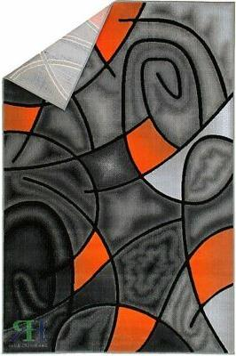 Abstract Area Rug Contemporary For
