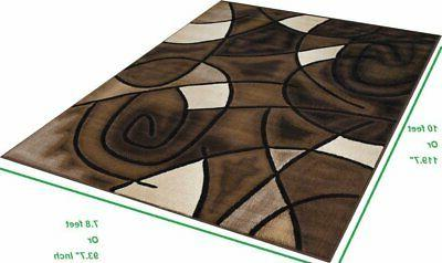 Abstract Rug Contemporary Luxury
