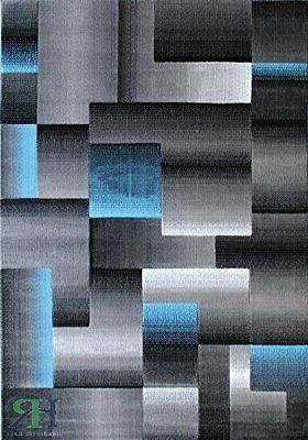 Abstract Rugs 8x10 Modern Carpet