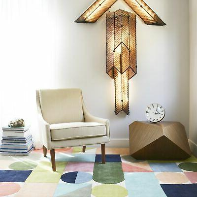 "Novogratz Multicolor Geometric Rug Multi 2'3"" x Runner"