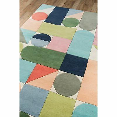 "Novogratz Delmar Multicolor Wool Rug Multi 2'3"" Runner"