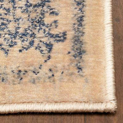 Classic Distressed Floral Area Rug or by Nile Mills