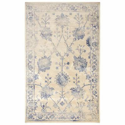 classic distressed floral indoor area rug or