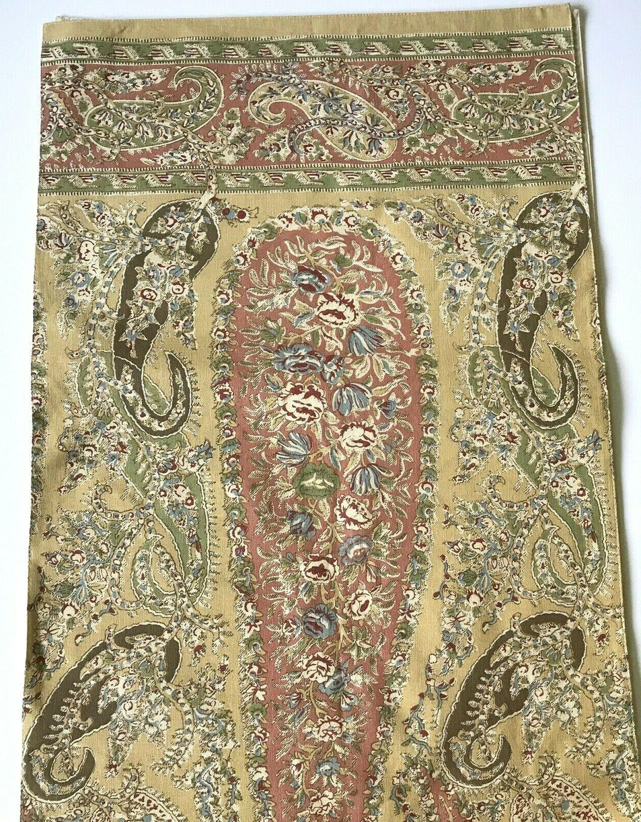 collette paisley floral table runner 18x 18