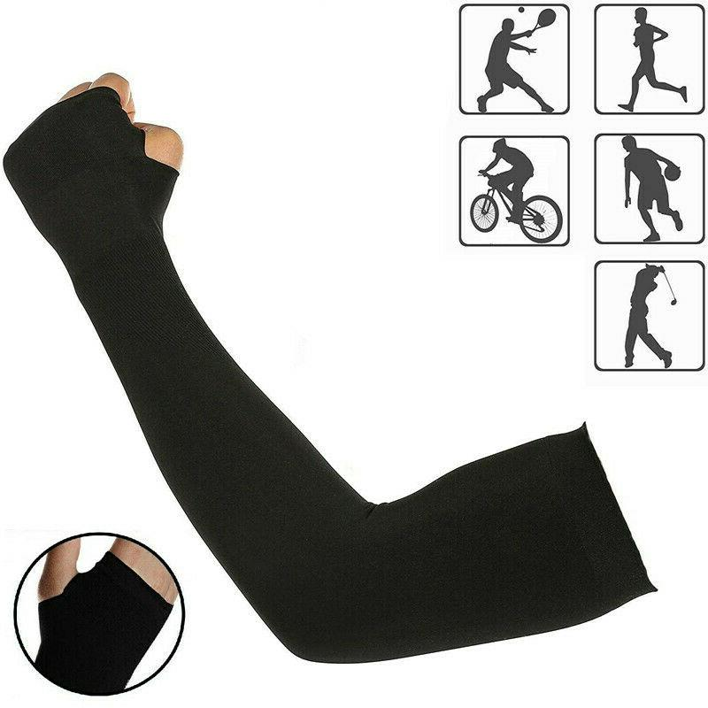Cooling Arm UV Cut Protection Outdoor 5 Pairs