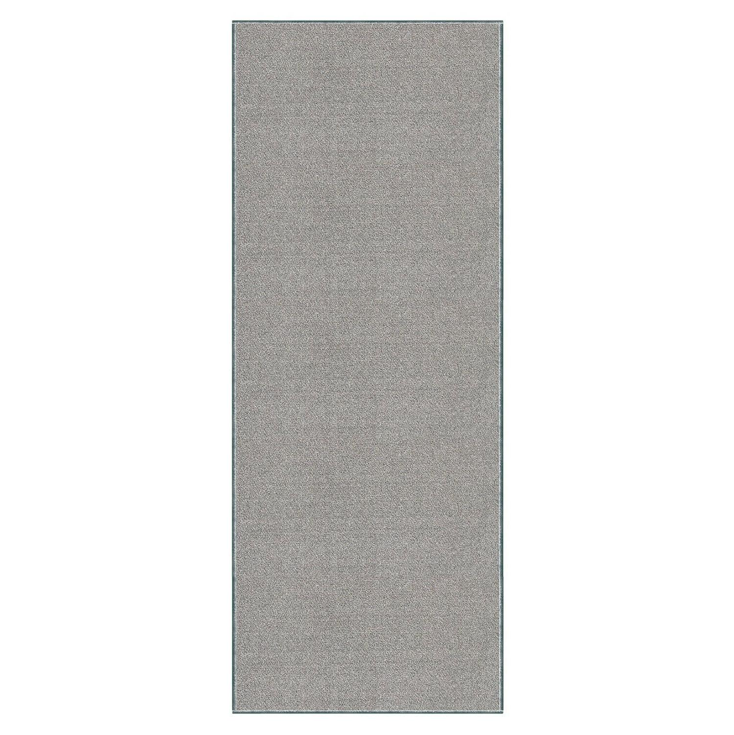 Custom Size SOLID Stair Runner Non Rubber GRAY