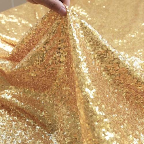 GFCC Gold Sequin Runners 12x72inch Glitter Gold