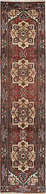 """Hand-knotted Carpet 2'6"""" x 10'8"""" Traditional Wool Rug...DISC"""