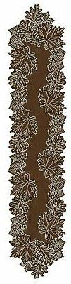 Heritage Lace Leaf Collection - Placemats, Runners, etc 3 Co