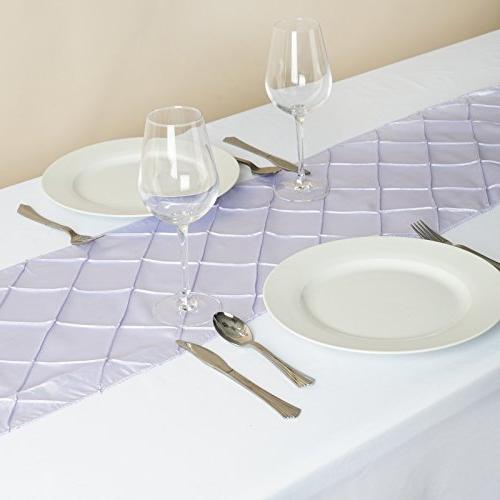 BalsaCircle x Lavender Table Top Runner Wedding Party Event Reception Linens