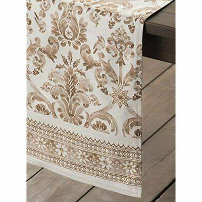 """Maison D' 100% Cotton Table 14.5 By 72 Inch. Home """""""