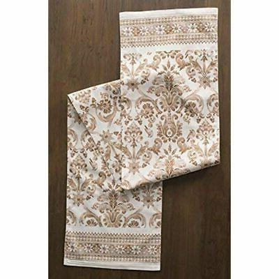 Maison D' Hermine 100% Cotton Table Runner 14.5 Inch. Home