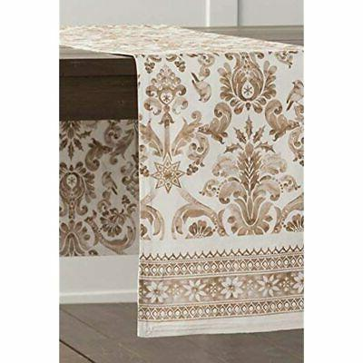 Maison D' Hermine 100% Table 14.5 By Inch.