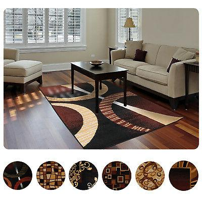 modern contemporary geometric area rug runner accent
